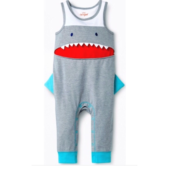 5163abfd2750 Cat   Jack Other - Cat   Jack Baby Shark Romper 12 Months